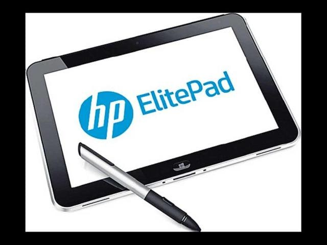 HP joins tablet war with ElitePad 900