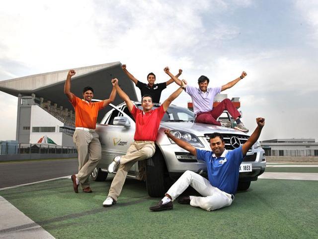 Digvijay Singh,Gaganjeet Bhullar,Anirban Lahiri