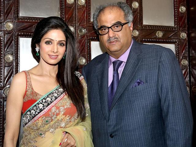 Boney Kapoor,Sridevi,party