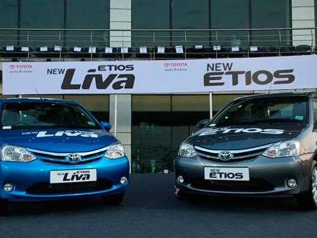 Updated Etios, Liva launched
