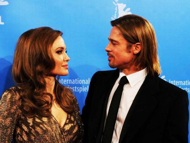 Brad pitt,Angelina Jolie,HIndustan Times