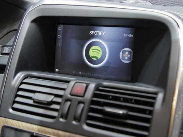Spotify will be available in Volvo cars,Sensus Connected Touch system,3G/4G