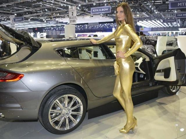 By rasing the roof line and changing the tailgate, Bertone has managed to create a car with a larger boot space without compromising the car's lines. Photo:AFP
