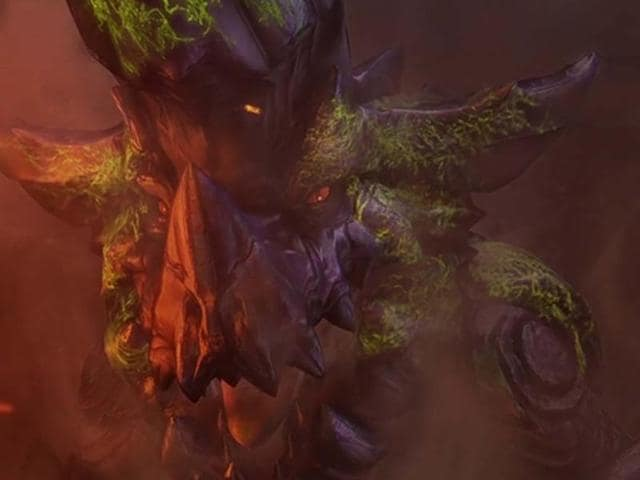 A-Brachydios-emerges-in-Monster-Hunter-3-Ultimate-Photo-AFP