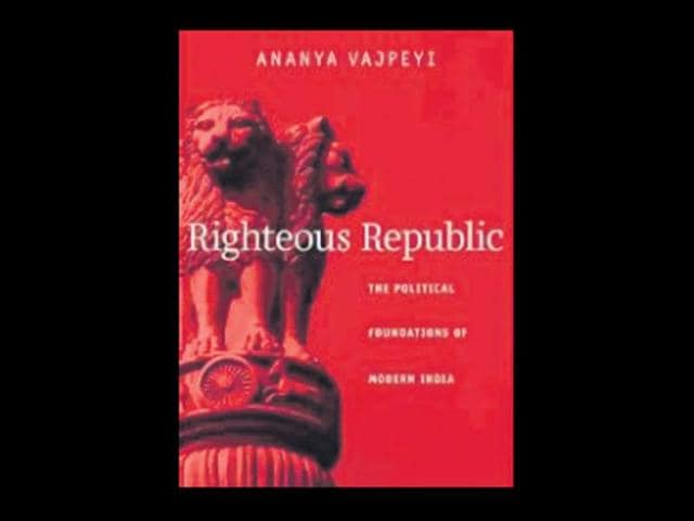 Righteous Republic,Ananya Vajpeyi,news