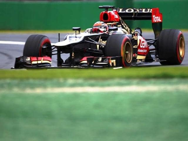 Kimi Raikkonen,Australian Formula One Grand Prix,Lotus