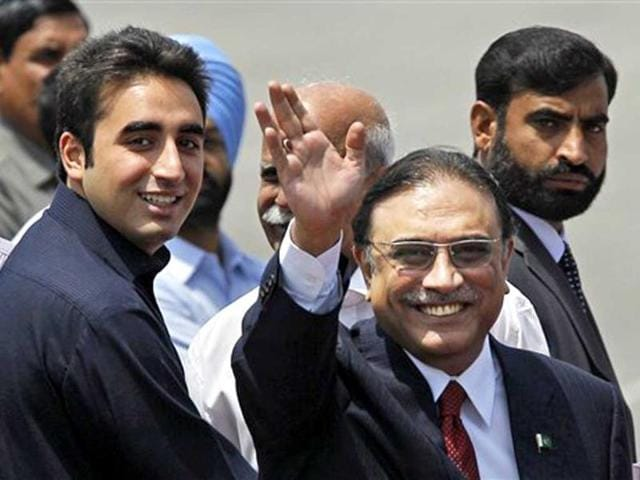 Bilawal Bhutto Zardari,Asif Ali Zardari,Pakistan's people's party