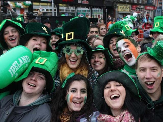 Revellers-attend-St-Patrick-s-Day-festivities-in-Dublin-More-than-100-parades-are-being-held-across-Ireland-to-mark-St-Patrick-s-Day-the-feast-day-of-the-patron-saint-of-Ireland-with-up-to-650-000-spectators-expected-to-attend-the-parade-in-Dublin-Photo-AFP-Peter-Muhly