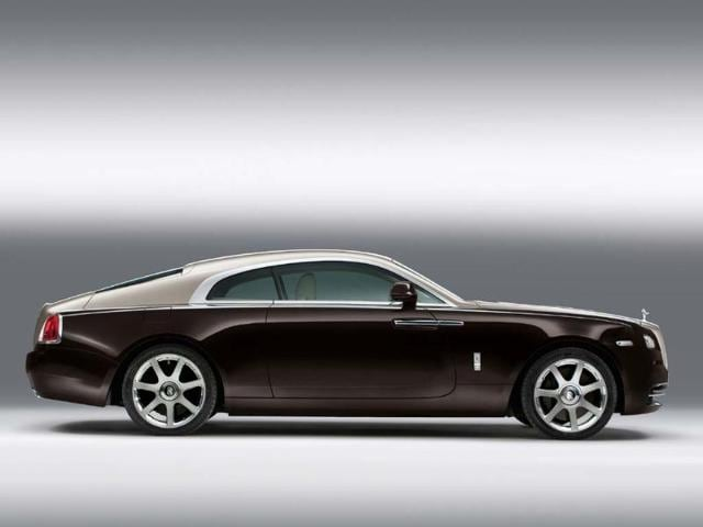 The new Rolls-Royce Wraith is already considered by many as a departure in terms of styling and performance for the luxury car company. Photo:AFP