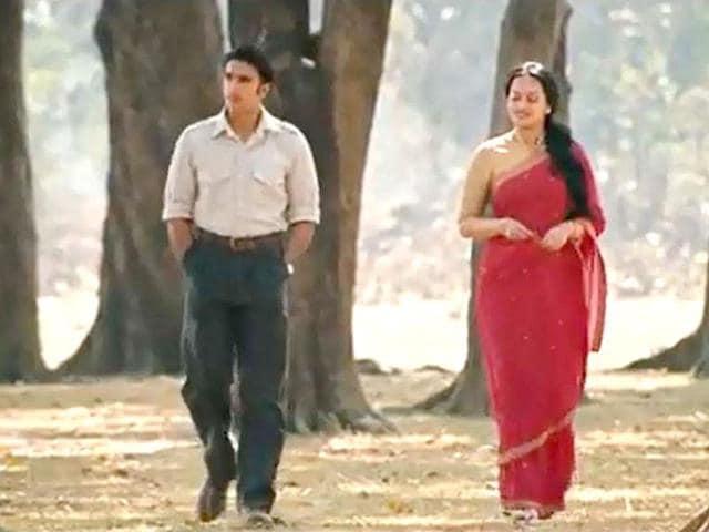 Ranvir Singh,Sonakshi Sinha,Lootera