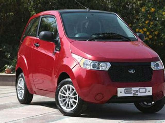 More-powerful-Mahindra-e2o-in-the-works