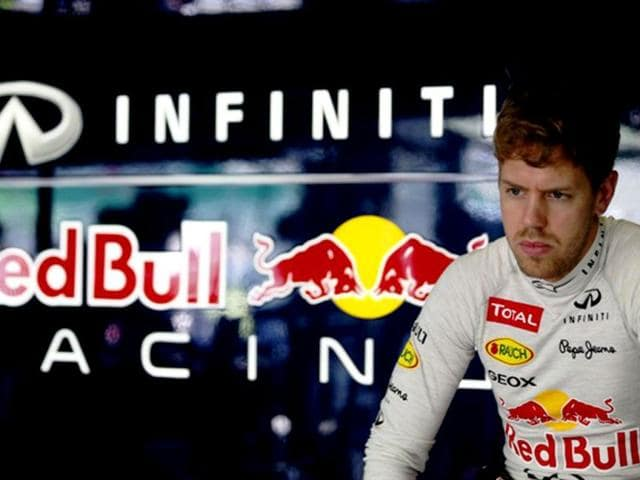 Red-Bull-Racing-s-Sebastian-Vettel-has-made-his-dissatisfaction-with-the-tyres-public-after-his-RB9-was-found-to-struggle-with-tyre-wear-as-compared-to-the-Lotus-E21-and-the-Ferrari-F158-Getty-Images