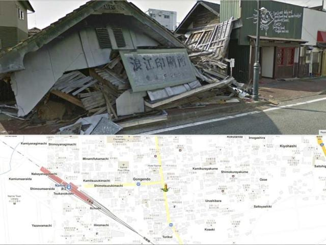 Google-Street-View-is-giving-the-world-a-rare-glimpse-into-Japan-s-eerie-ghost-town-following-the-March-2011-earthquake-and-tsunami-which-sparked-a-nuclear-disaster-that-has-left-the-area-uninhabitable-AP