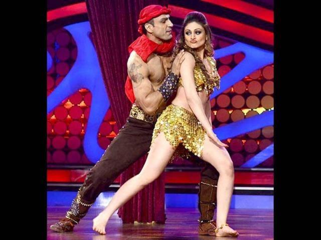 Shefali Zariwala,Parag Tyagi,dance