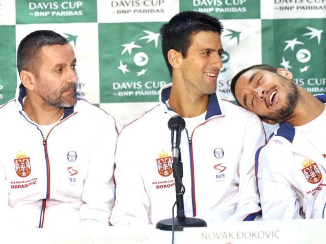 Serbia Davis Cup team backs banned Troicki: Djokovic