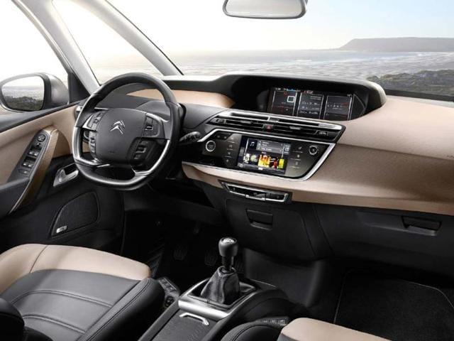 New Citroën C4 Picasso: The Technospace (April 2013). Photo:AFP