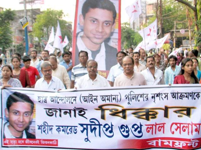 Subhajit Das, a youth leader from the ruling Trinamool Congress (TMC) party, on Thursday resigned from the party post in disgust over the death of Sudipta Gupta, the SFI leader, in Kolkata on 2 April.