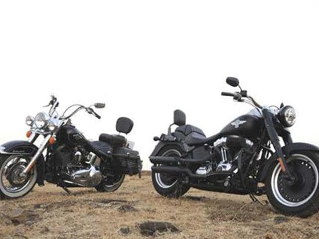 Harley-Davidson-Fat-Boy-Special-and-Heritage-Softail-Classic,-test-ride,-review