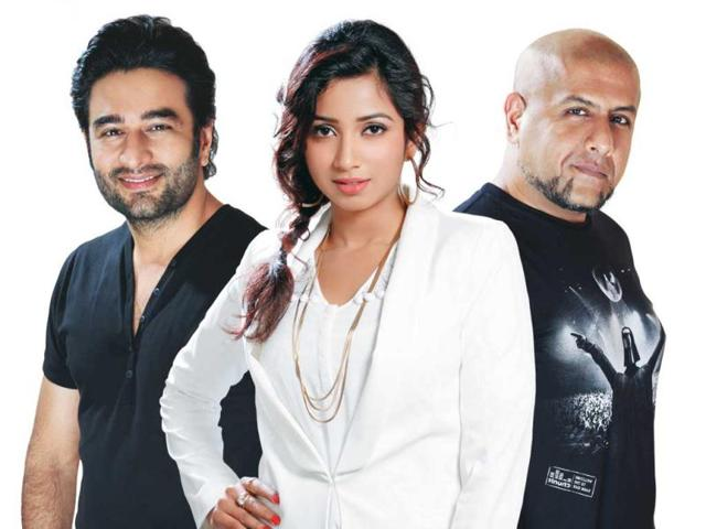 Indion-Idol-Junior-Shekhar-Ravjiani-Shreya-Ghoshal-and-Vishal-Dadlani