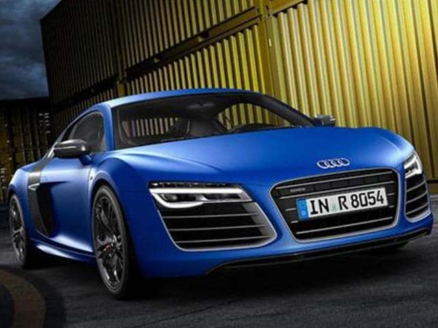 Audi R8 V10 plus launched in India,Audi R8 V10 plus launched,Audi R8 V10