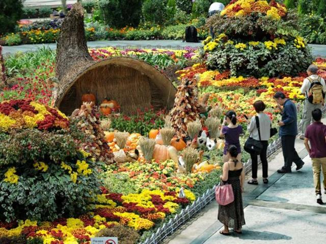 New Singapore garden wooings tourists