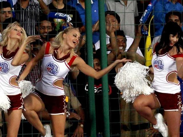 Cheerleaders-perform-during-the-IPL6-match--between-Delhi-Daredevils-and-Rajasthan-Royals-in-New-Delhi-PTI-Photo