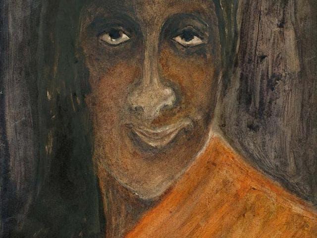 A-portrait-of-Kadambari-Devi-by-Rabindranath-Tagore-from-the-new-modern-anthology-Manifestation-IX-Photo-IANS