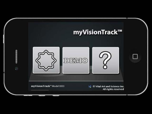 myVisionTrack-iPhone-app-Photo-AFP