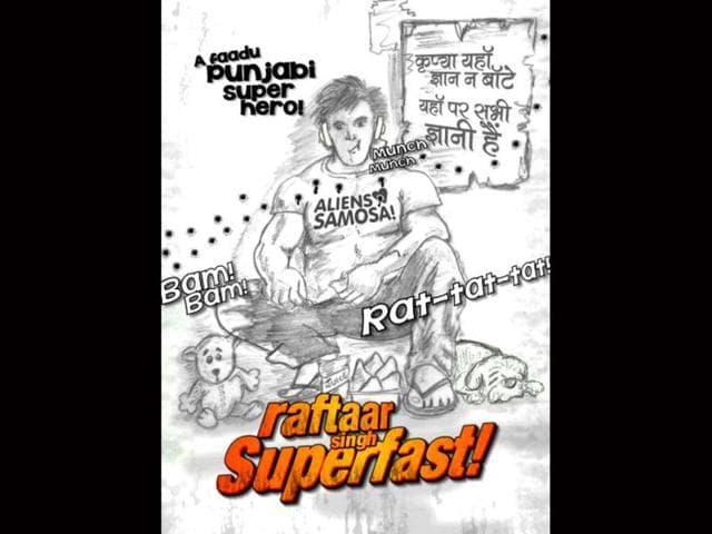 Raftaar-Singh-Superfast-poster
