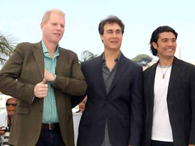 Noah-Emmerich-left-with-Doug-Liman-and-Khaled-Nabawy-at-the-photocall-of-Fair-Game-at-the-63rd-Cannes-Film-Festival-AFP-Photo