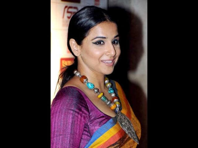 Bollywood actor Vidya Balan will shoot a quirky music video for