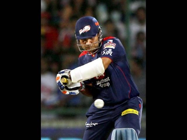 Delhi-Daredevils-batsman-Virender-Sehwag-plays-a-shot-during-the-T20-match-against-Sunrisers-Hyderabad-in-New-Delhi-PTI-Photo