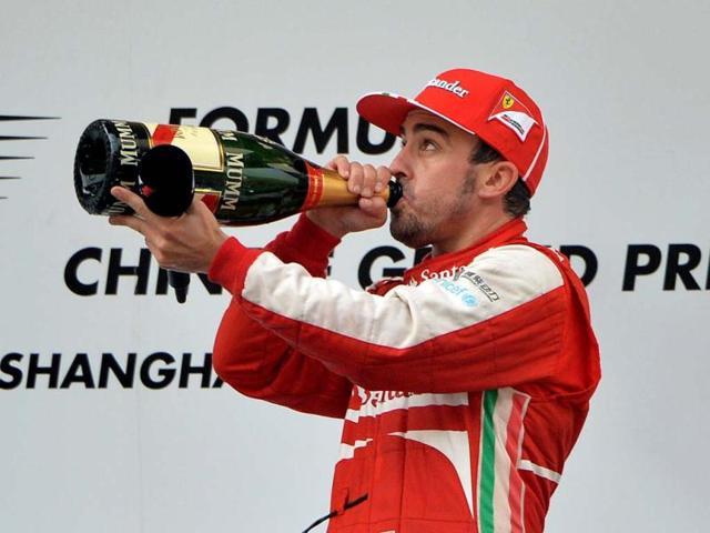 Fernando Alonso,chinese grand prix,Kimi Raikkonen