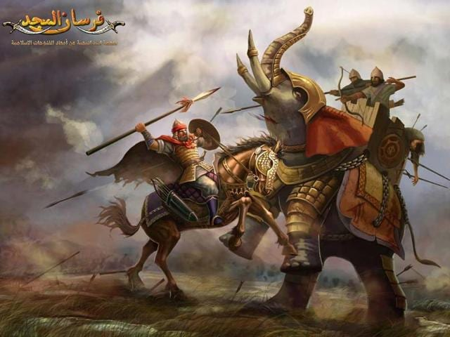 Promotional-picture-for-Arabic-MMO-game-Knights-of-Glory-Photo-AFP