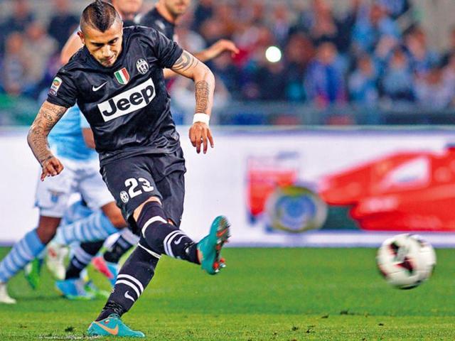 Arturo Vidal,Juventus,Lazio