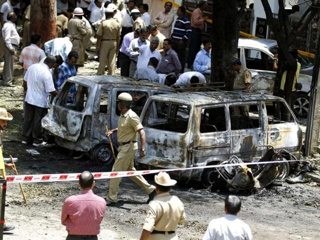 After bomb blast in Bangalore on Wednesday, Congress spokesman Shakeel Ahmed tweeted that if the blast is a terror attack, the Bharatiya Janata Party will be politically benefited in the upcoming Karnataka Assembly elections.
