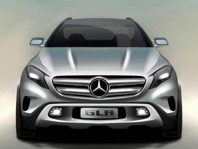 Mercedes GLA Compact SUV concept revealed