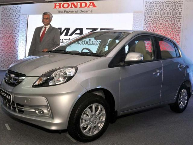 Honda cars,Japanese auto major,Amaze sedan