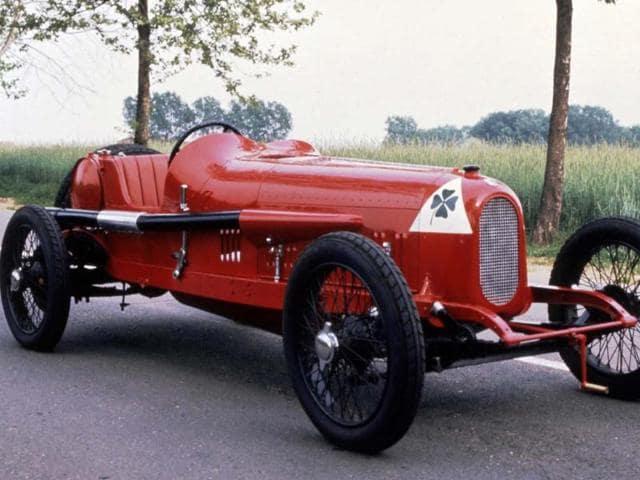 Alfa Romeo RL,Alfa Romeo's,four-leaf clover 90