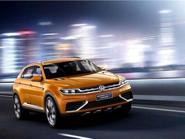 Volkswagen CrossBlue,vw suv,Volkswagen CrossBlue and CrossBlue coupé