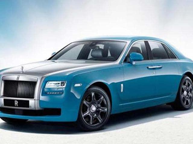Rolls-Royce,Rolls-Royce Ghost Alpine Trial Centenary
