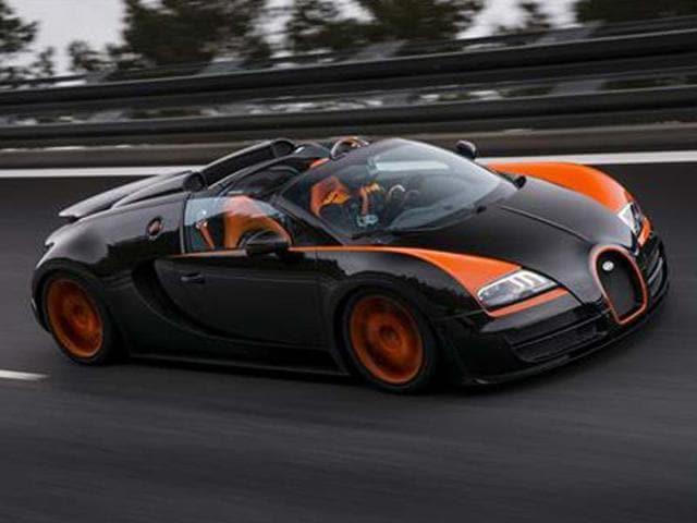 408.8 kph Bugatti Veyron Grand Sport Vitesse for Shanghai