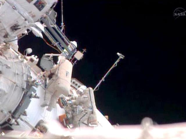 Pavel Vinogradov,oldest spacewalker,NASA