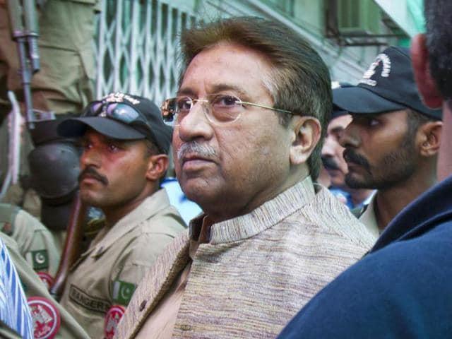 Pervez Musharraf,anti-terrorism court,hindustantimes