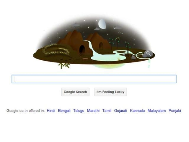 Google Doodle,Earth Day 2013,Hindustan Times