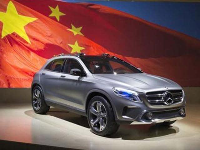 Mercedes shows GLA compact SUV,Mercedes-Benz Concept GLA,SUV segment