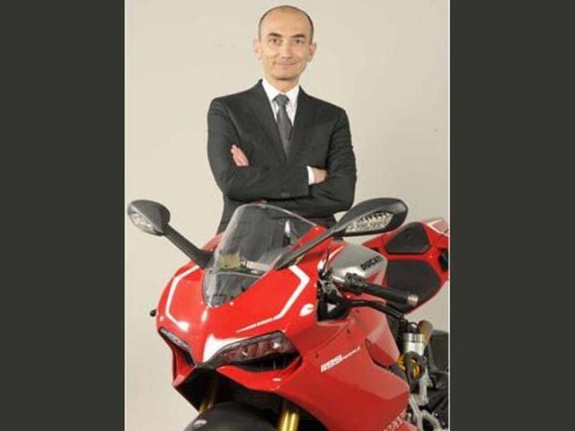 Ducati's change in command