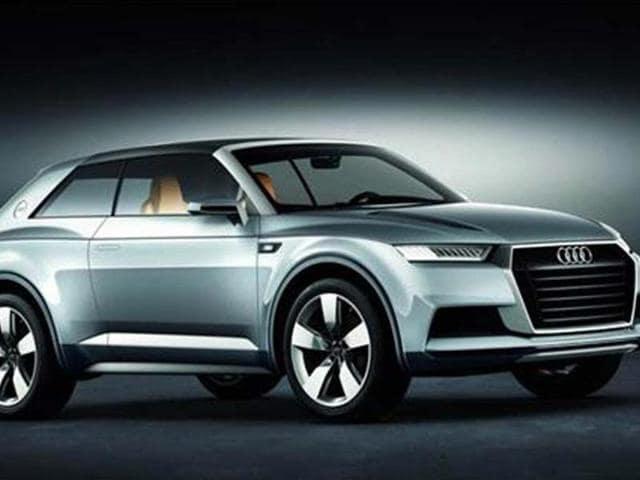 Audi suv,Audi Q7,Range Rover Sport-style