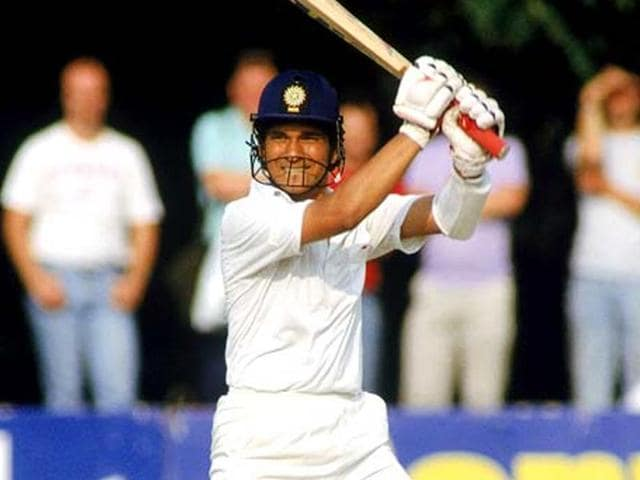 Sachin had to wait for a year before he scored his first Test century. (Getty Images)