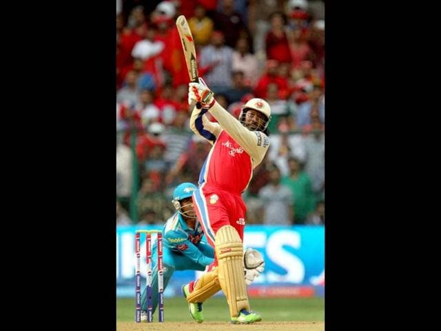 Pune Warriors India,Royal Challengers Bangalore,Chris Gayle